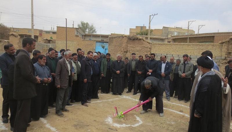 شهردار سودجان از کلنگ زنی دفتر امام جمعه شهر سودجان خبر داد