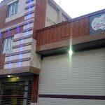 اتمام عملیات نمای ساختمان آتش نشانی و ساختمان اداری شهرداری سودجان
