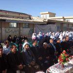 افتتاح مدرسه معرفت شهر سودجان